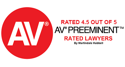 Marindale Hubbell AV Preeminent Rating 4.5 out of 5